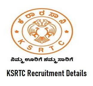 KSRTC Recruitment for Driver